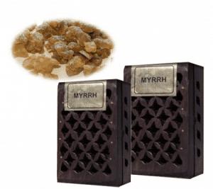 Incense Resin Myrrhe In Wooden Box