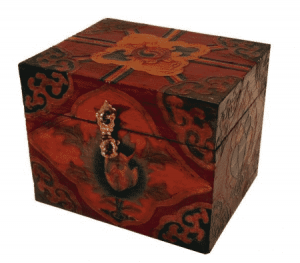 Tibetan Treasury Lotus-Unlimited Button