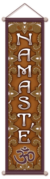 Namaste Banner (15 X 60 Cm)