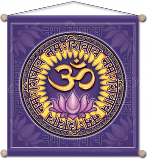 Meditation Banner To Namo Shiva