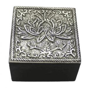 Jewelry Box Lotus (5.7 X 5.7 Cm)