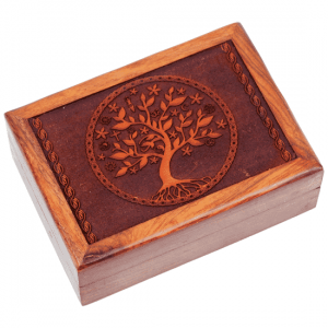 Tarot Box Tree Of Life Engraved