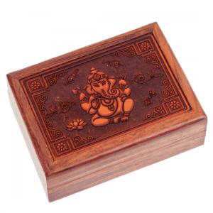 Tarot Box Ganesh Engraved