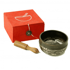 Singing Bowl OHM Gift Set Red
