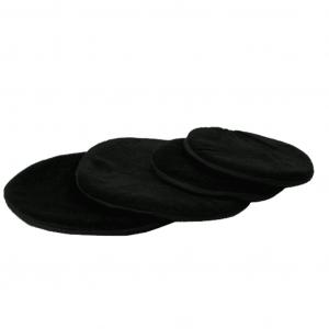 Singing Bowl Flat Round Black (15 Cm)