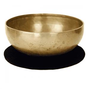 Felt Coaster For Singing Bowls (red Brown)
