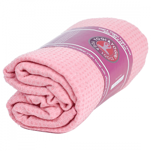 Yoga Towel Silicon Antislip Pink