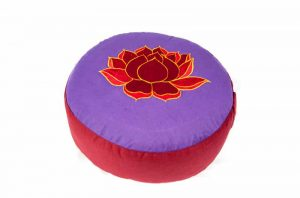 Meditation Cushion Lotus (violet-red)