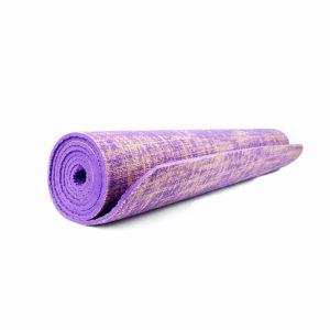 Yogi & Yogini Jute Yogamat Violet