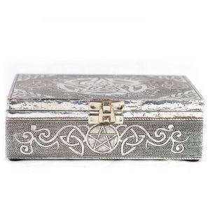 Tarot Or Jewellery Box Pentagram