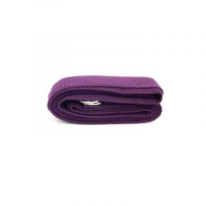 Yoga Belt D-ring Purple