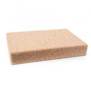 Yoga Block Cork For Shoulder Position