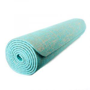 Yogi & Yogini Jute Yogamat Mint Green