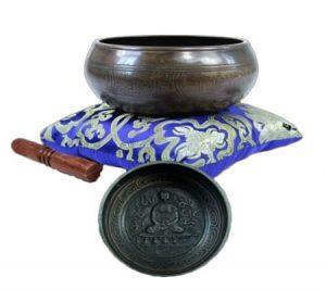 Singing Bowl With Buddha (10 Cm)