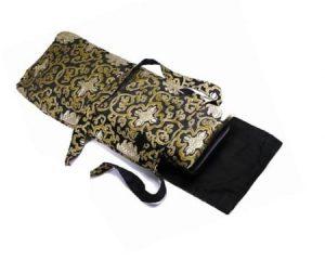 Carrying Bag For Meditation Sofa Lotus Black Gold