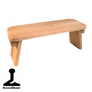 Meditation Bench American Oak (fixed)