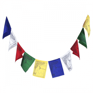 Tibetan Prayer Flags The Four Friends