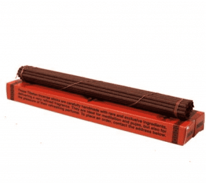 Incense Tibetan Traditional Herbs in Red Box