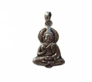 Buddha Hangertje Silver