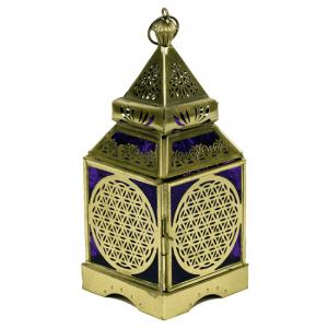Atmospheric Light Oriental Lantern Flower of Life