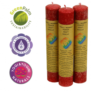Odor candle 1st Chakra