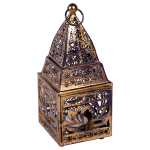 Atmospheric light Oriental Lantern Lotus