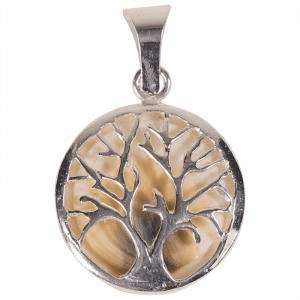 Pendant Tree of Life and Operculum 925 silver