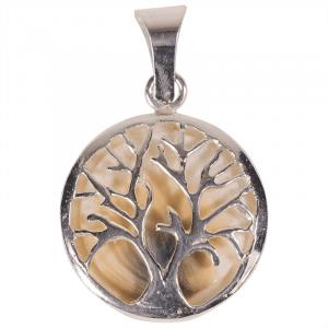 Pendant Tree of Life and Operculum 925 silver