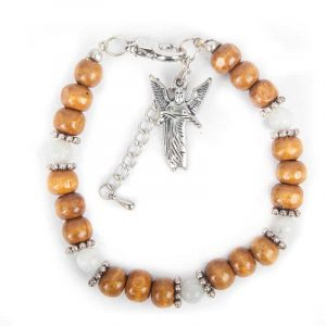 Angels bracelet Archangel Gabriel - Rainbow Moonstone.