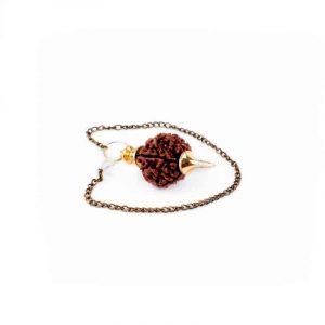Rudraksha Pendulum Gold-coloured