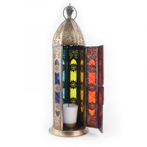 Atmospheric Light Oriental Lantern Seven Chakras (Golden)