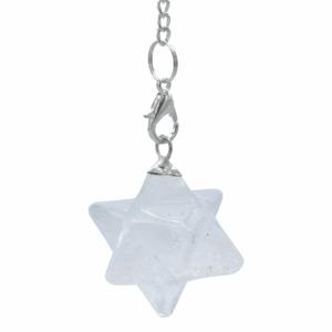 Pendulum Mountain Crystal Merkaba Chakra Eight Pointed
