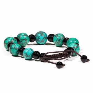 Bracelet Turquoise Black Onyx
