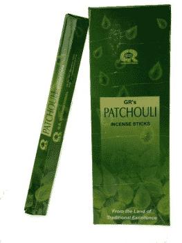G.R. Incense Patchouli (6 packages)