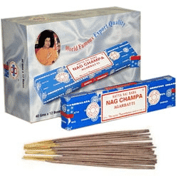Sartya Incense Nag Champa (12 boxes)