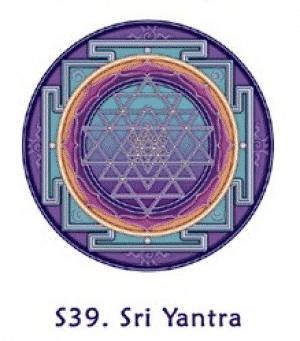 Raamsticker Sri Yantra