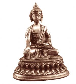 Little statue Buddha Ratnasambhava - 10 cm - 300 grams