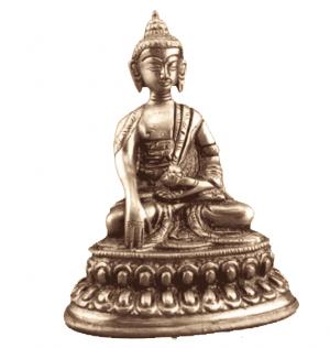 Mini statue Buddha Akshobya - 10 cm (300 grams)