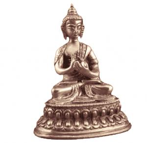 Mini statue Buddha Vairocana - 10 cm
