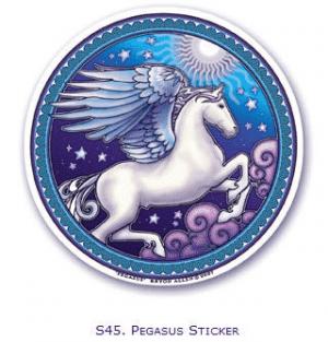 Window sticker Pegasus