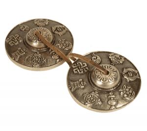 Tingsha's 8 Voorspoedsymbolen (150 gram)