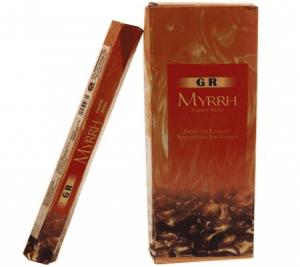 G.R. Incense Mirrh (6 packets)