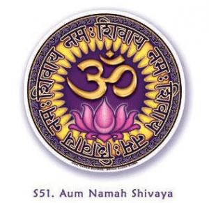Window sticker Om Namah Shivaya