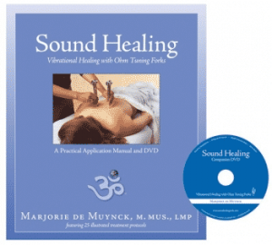 Book and DVD on Tuning Forks - Sound Healing with Tuning Forks