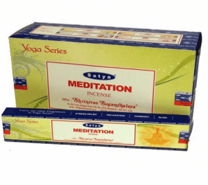 Satya Incense Nag Champa Meditation (12 packages)