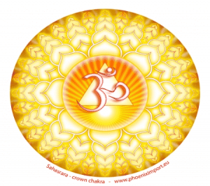 Sahasrara window sticker crown chakra