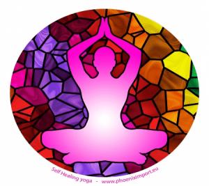 Window sticker Self Healing Yoga