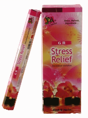G.R. Incense Stress Relief (6 packages)