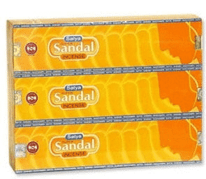 Satya Incense Nag Champa Super Sandal (12 packages)