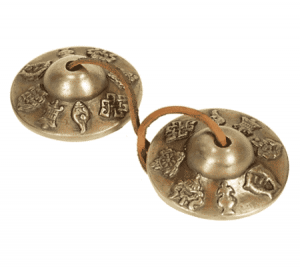Tingsha's Superior Sound 8 Propagating symbols (6.5 cm - 210 gram)